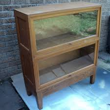 Bookshelves With Glass Doors For Sale barrister bookcase with glass doors