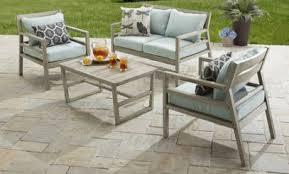 Better Homes And Gardens Azalea Ridge 4 Piece Patio Outdoor Patio Conversation Sets Outdoor Room Ideas