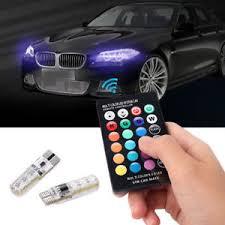 remote control car lights t10 5050 remote control car led bulb 6 smd multicolor w5w 501 side