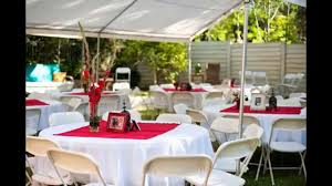 home decor beautiful backyard wedding reception outside