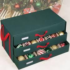ornament boxes seasonal storage decoration organization