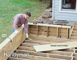 building deck benches nail cool teenage rooms 2015