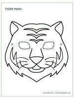 25 tiger mask ideas awesome masks oni mask