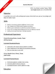 lpn resume exle licensed vocational lvn resume sle resume exles