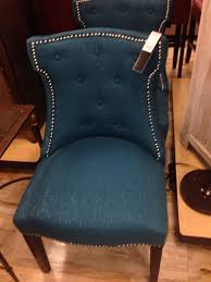 peacock blue chair brilliant jla kendall fabric accent chair direct ship furniture
