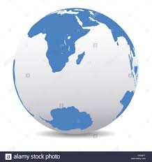 Ocean Map World by Map Icon Of The World Globe South Africa South Pole Indian Ocean