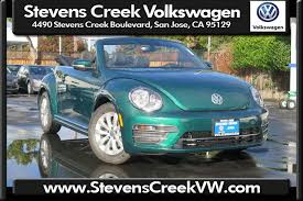 blue volkswagen beetle for sale new volkswagen beetle convertible in san jose stevens creek