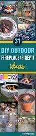 Diy Backyard Fire Pits by Best 25 Diy Backyard Improvements Ideas On Pinterest Backyards
