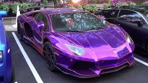 lamborghini aventador pink epic chrome purple lamborghini aventador by lb performance in