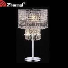 crystal chandelier table lamp delightful lamps regarding decor 9