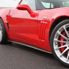 corvette c6 grand sport c6 zr1 grand sport z06 wide acs side rockers 27 4 023