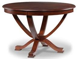 dining room solid walnut arts and crafts expandable round dining