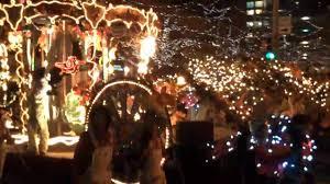 Zoo Lights Denver Co by Denver Parade Of Lights 2009 A Christmas Parade Youtube