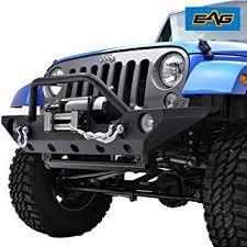 jeep wrangler road bumper amazon com eag 07 17 jeep wrangler jk rock crawler road front