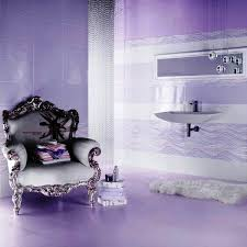 Lavender Bathroom Decor Bathroom Inspiring Purple Bathroom Design Ideas With Luxury Chair