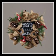 christmas burlap wreaths country christmas wreath burlap berry floral