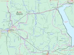 Printable Map Of Michigan by Michigan Snowmobiling Wakefield Lake Gogebic Snowmobile Trail
