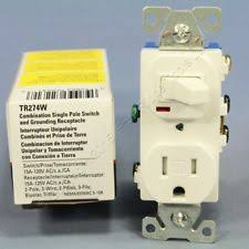 cooper wiring devices tr274w 3 wire receptacle combo single pole