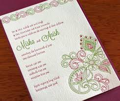 marriage invitation wording india wedding invitation wording for friends from groom indian yaseen