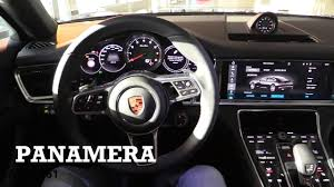 porsche panamera 2016 interior 2017 porsche panamera interior review youtube