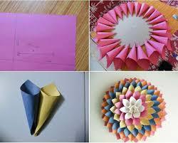 cara membuat origami bunga yang indah diy cara membuat bunga dari kertas untuk hiasan dinding video