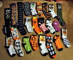 halloween socks easily amused often annoyed