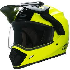 motocross helmets ebay bell mx 9 adventure hi viz motocross helmet mx quad dual sport off