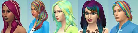 sims 4 hair custom content showcase sunday 7 sept 2014 platinum simmers