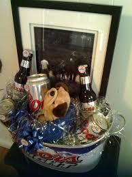 coors light gift ideas 58 best birthday baskets images on pinterest birthday basket