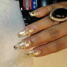 gold design nails choice image nail art designs