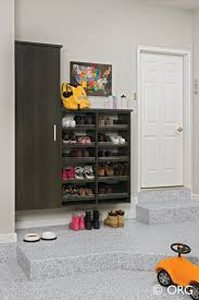 Mudroom Layout by Flawless Garage Shoe Storage Ideas Garage Layout Ideas