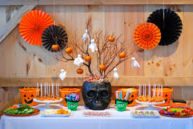 halloween party table decorations halloween party ideas to host the perfect spooky plates clipgoo t