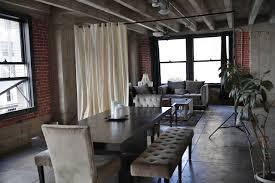 ivory loft style room divider kit modern living room chicago