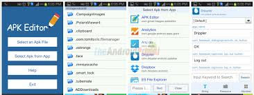 apk for android apk editor how to edit apk files on android