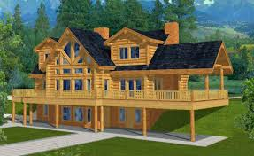 Walk Out Basement House Plans Mountain Home Plans With Walkout Basement
