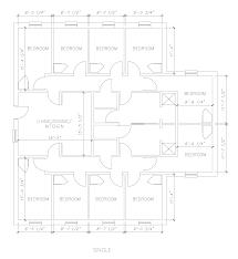 Floor Plan Dimensions Uncw Housing University Suites