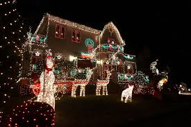 Decoration House Christmas Lights by Houses With Christmas Lights Christmas Lights Decoration