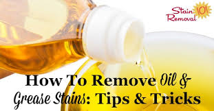 how to remove stains for various surfaces and fabric