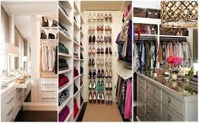 nice closets nice and small walk in closet organization ideas surripui net diy