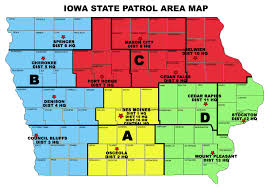 map us iowa isp district map location