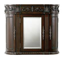 bathroom wall cabinet ideas foremost naples 26 3 4 in w bathroom storage wall cabinet in warm