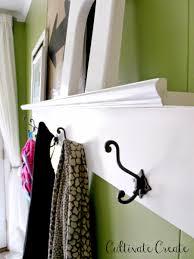 Entry Shelf Cultivate Create Diy Entry Organization Shelf