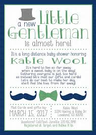 Gifts By Mail Long Distance Baby Shower Invitation Baby Shower By Mail Baby