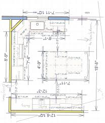outstanding kitchen island layout dimensions and questions about