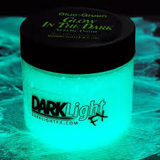 glow in the paint blue green glow in the paint clear drying invisible acrylic