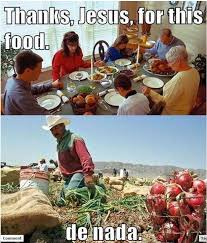 Thank You Jesus Meme - thanks jesus for this food de nada weknowmemes