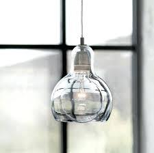 Large Glass Pendant Lights Glass Pendant Light Glass Large Mega Bulb Glass Pendant