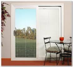 Glass Patio Sliding Doors Sliding Doors With Built In Blinds Windows Between The