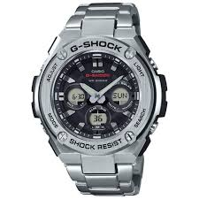 mens stainless steel bracelet watches images Men 39 s casio g shock g steel stainless steel bracelet watch jpg