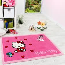 teppich rund rosa hello kitty teppich kinderzimmer teppich hello kitty und freunde
